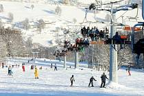 BUBÁKOV v Herlíkovicích je oblíbeným lyžařským  areálem na Vrchlabsku.