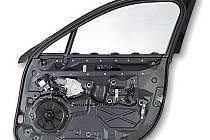 Jeden z výrobků firmy Brose: systém dveří v automobilovém průmyslu