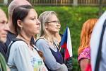 Z trutnovského setkání iniciativy Milion chvilek 21. srpna 2019.