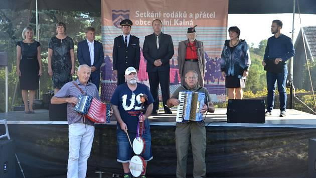 Sjezd rodáků v Dolní Kalné.