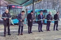 Zahájení provozu nových ekobusů v trutnovské MHD.
