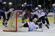 Vrchlabští hokejisté v derby trutnovského gólmana Ašenbrennera překonali hned pětkrát.