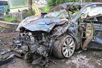 Řidič, který havaroval v Horní Olešnici s vozem Subaru Legacy, byl pod vlivem alkoholu. Dechové zkoušky u něho odhalily 1,37 a 1,45 promile alkoholu.