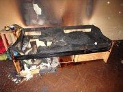 V bytě tři dny hořelo, nikdo o tom nevěděl.