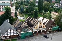 Čtyři historické domky ve Vrchlabí