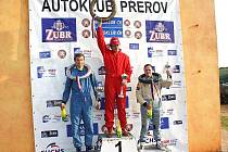 Ivana Kuželová na třetím místě