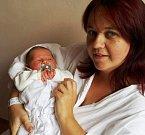 ŠTĚPÁNEK ŠRAIER se narodil 4. říina v 10.52 hodin. Vážil 4,04 kg a měřil 51 cm. Maminka Adéla, tatínek Matěj a sestřička Amálka budou bydlet ve Dvoře Králové nad Labem.