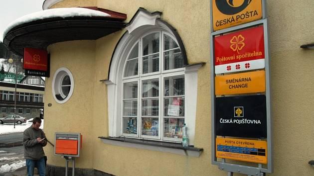 Špindlerův Mlýn - pošta