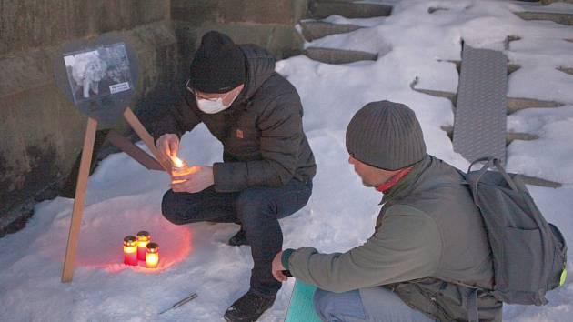 Ve Vrchlabí se 27. ledna 2021 vzpomínalo na Olgu Havlovou.
