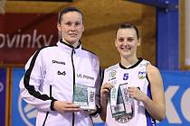 1. čtvrtfinále ŽBL: Kara Trutnov -  VŠ Praha