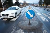 RADAR pro obousměrné měření rychlosti se brzy objeví také na frekventované hlavní silnici u Mladých Buků.