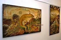 Výstava Karla Šlengera v trutnovské Galerii