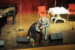 Koncert Karla Gotta a Karla Štědrého v Hankově domě ve Dvoře Králové