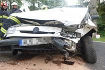 Dopravní nehoda v Křenově