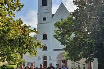 Královédvorský chrámový sbor zazpíval v rakouské bazilice Klein Mariazell.
