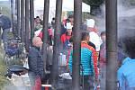Soutěž Krakonošův guláš přilákala jako tradičně do Pece pod Sněžkou velké množství diváků. Ochutnávali, co jim na velkých uvařili třeba herci Saša Rašilov, Pavel Nový nebo Jan Dolanský.