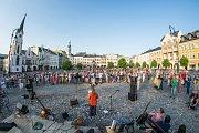 Demonstrace proti Andreji Babišovi 11. června 2019 v Trutnově.