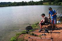 Malí rybáři si užili tábor na Severce v Dolcích