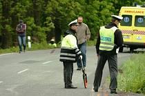 Tragická nehoda automobilu v Rudníku