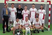Vítězný tým turnaje - ZŠ Mládežnická.