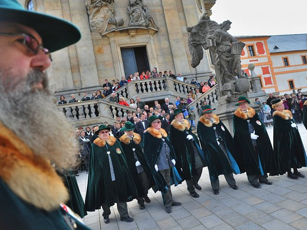 Svatohubertská slavnost na Kuksu, 2015