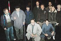 Happening turnovského Občanského fóra k 20. výročí Sametové revoluce na náměstí.