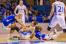 Ženská basketbalová liga: BK Loko Trutnov - U19 Chance Strakonice 84:59.