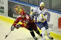 Hokejová příprava: HC Vrchlabí - HC VCES Hradec Králové.