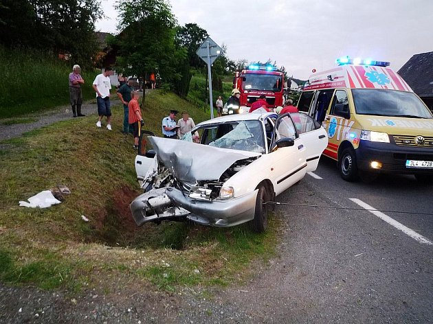 Víkendové nehody na Semilsku