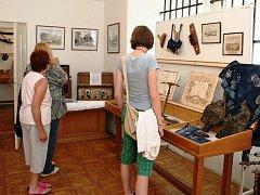 CELÉ PRÁZDNINOVÉ OBDOBÍ bude možné v úpickém Městském muzeu zhlédnout expozici nejrůznějších předmětů běžné denní potřeby našich předků.
