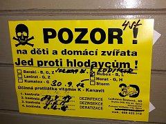 Od 19. března do 19. dubna dojde v Trutnově k celoplošné likvidaci hlodavců. Je nutné na ni objednat specialisty.