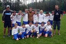 Mladší žáci FC Vrchlabí.