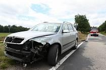 V Borovnici došlo ke srážce vlaku s osobním vozidlem.