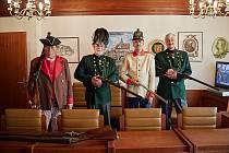 Členové Klubu vojenské historie Trutnov při letošních Dnech evropského dědictví.