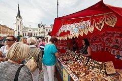 Trutnovský jarmark, tradiční slavnost na Krakonošově náměstí.