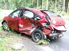 Na pondělní den 4. srpna jen tak nezapomenou účastníci dopravní nehody, k níž došlo krátce před půl třetí odpoledne na silnici číslo II/300 mezi obcemi Horní Dehtov a Lipnice. Při havárii se střetl osobní automobily Citroen C4 se Škodou Felicia.