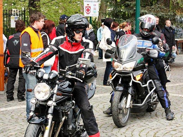 Motorkářské požehnání ve Vrchlabí