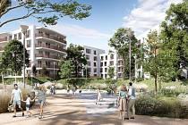 Největší developerský projekt ve Vrchlabí staví firma Labit ve svém areálu, kde vybuduje jedenáct bytových domů.