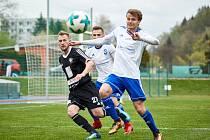 Trutnovští fotbalisté v dohrávce 21. kola Fortuna Divize C podlehli Kolínu 1:2.