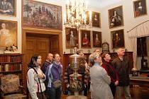 Zámek Hrubý Rohozec už vítal návštěvníky