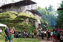 Zahájení sezony na hradu Vízmburk u Havlovic
