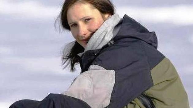 SNOWBOARDISTKA Kateřina Reehová ze Dvora Králové.