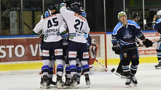 Třikrát se hokejisté Benátek radovali ze vstřelené branky.