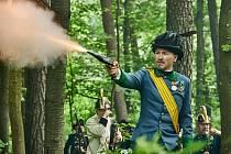 Trutnov si v neděli připomněl 155. výročí válečné bitvy Pruského království a Rakouského císařství.