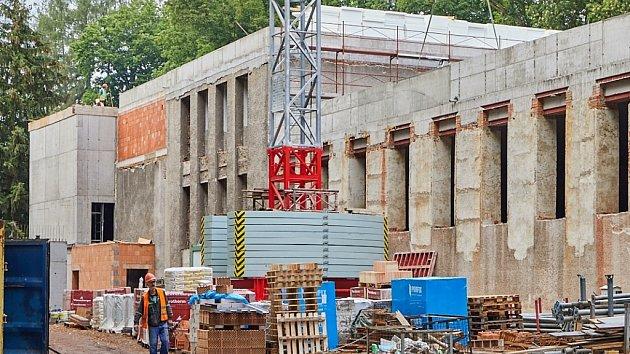 Výstavba Střediska volného času v Trutnově