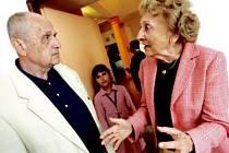 Irena Chrastilová a Karel Vašíček.