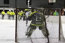 Trénink hokejistů HC Trutnov v Havlovicích