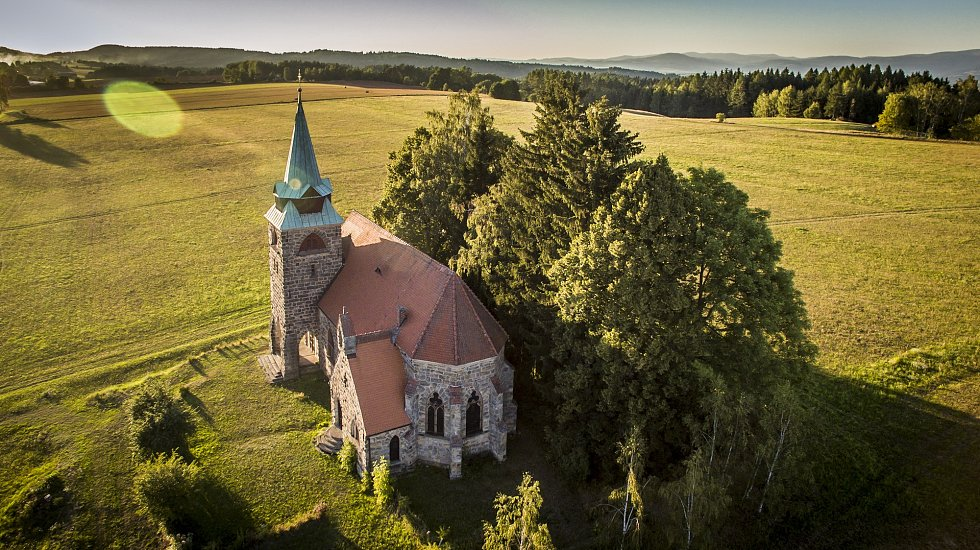 Fotografie snímané dronem