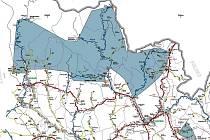 Mapa zimní výbavy v Krkonoších
