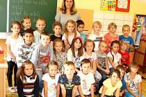 I.B. Základní školy Bratří Čapků v Úpici s paní učitelkou Janou Hájkovou.